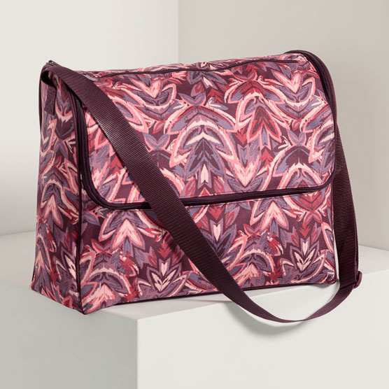 Get Creative ™ Large Carrier - Floral Ikat