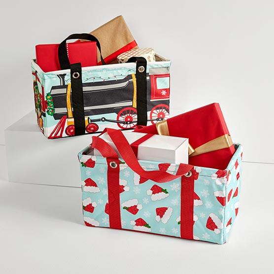 P.S. Holiday Medium Utility Totes Bundle - Hats Off Holiday