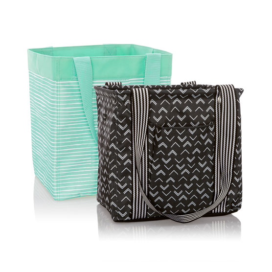 1 Small Utility Tote and 1 Essential Storage Tote - Multi