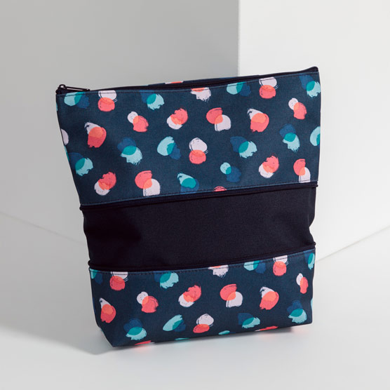 Size Up Expandable Pouch - Painted Dot Trio