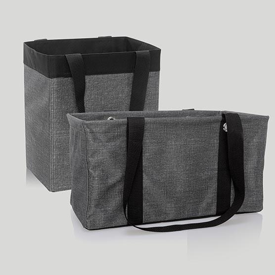 1 Essential Storage Tote & 1 Medium Utility Tote - Multi