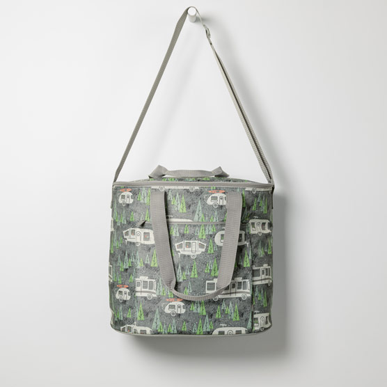 Round About Cooler Tote - RV There Yet Grey