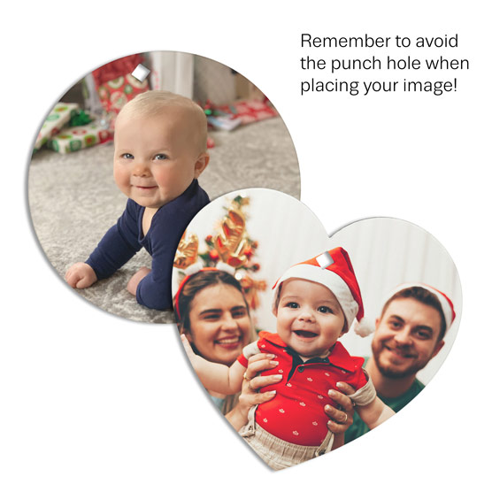 2 Picture Perfect Ornaments - Multi