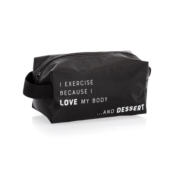 Let's Go Pouch Small - Workout 4 Dessert