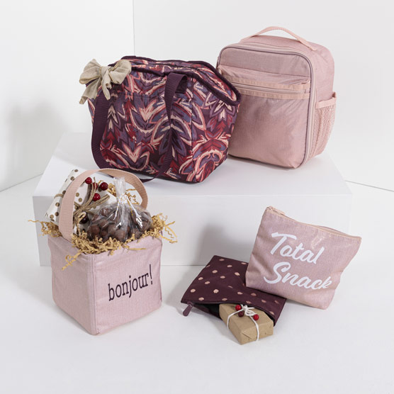 P.S. Eats & Treats Gift Set - Rose Blush Metallic