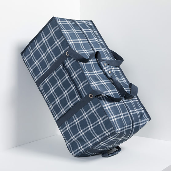 Extra Large Storage Tote - Sweater Weather Plaid