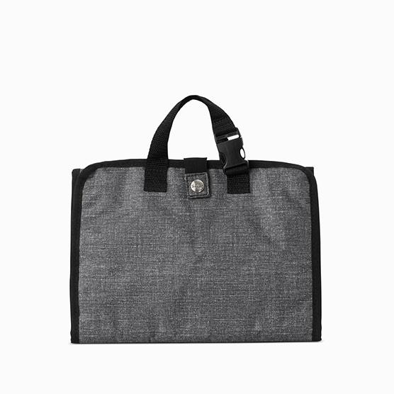 Fold & Hang Travel Organizer - Charcoal Crosshatch