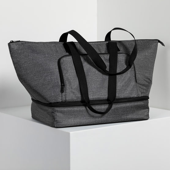 Bake & Take Party Cooler - Charcoal Crosshatch