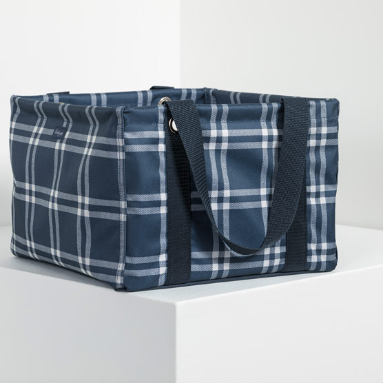 Square Utility Tote - Sweater Weather Plaid