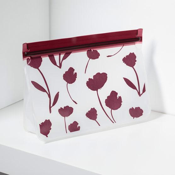 Reusable Snack Bag–Medium - Delicate Floral