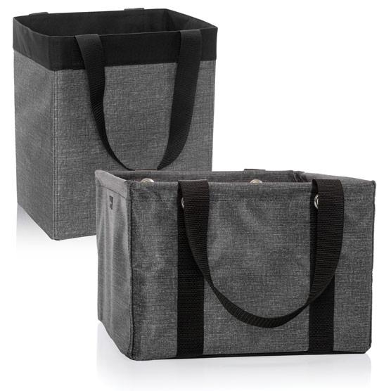 1 Essential Storage Tote & 1 Square Utility Tote - Multi